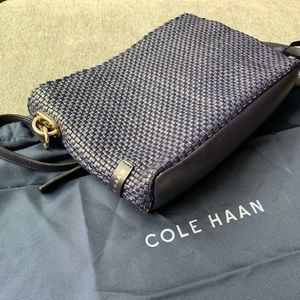 Cole Haan Benson Crossbody Midnight Blueberry